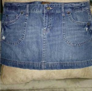 Denim Mini Skirt by Aeropostale *DENIM *NIP